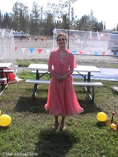 #maturewomen dance attire Dancing with the Fairbanks Stars @ High Latitude Style @ http://www.highlatitudestyle.com