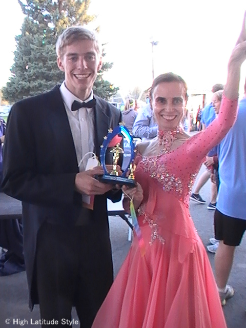 #over50 winning third prize at Dancing with the Fairbanks Stars | High Latitude Style | http://www.highlatitudestyle.com