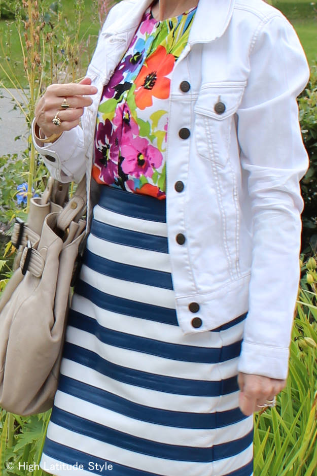 #fashionover40 The best outfits of August - zoom-in on OOTD @ High Latitude Style @ http://www.highlatitudestyle.com