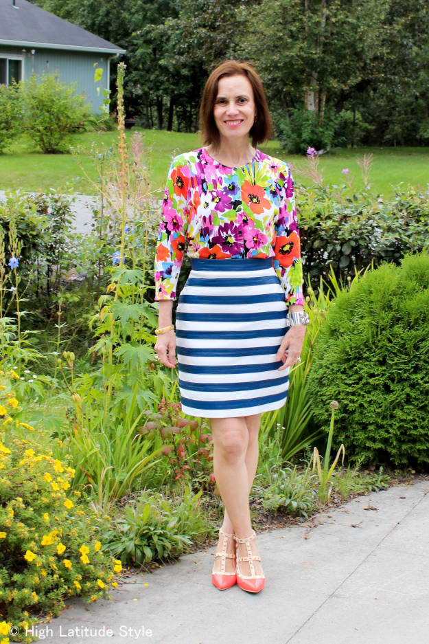 #fashionover50 The best outfits of August - OOTD @ High Latitude Style @ http://www.highlatitudestyle.com