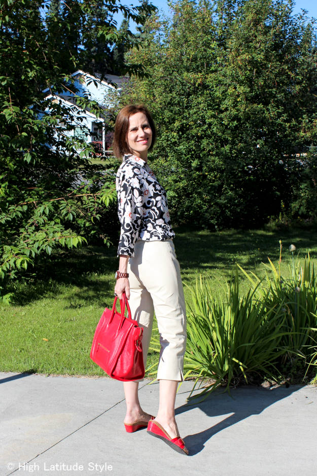 #fashionover40 Look ageless in global inspiration | High Latitude Style | http://www.highlatitudestyle.com