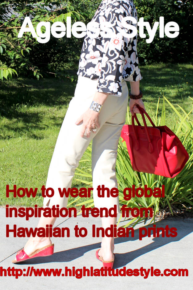 #fashionover40 how to look ageles in global inspiration | High Latitude Style | http://www.highlatitudestyle.com