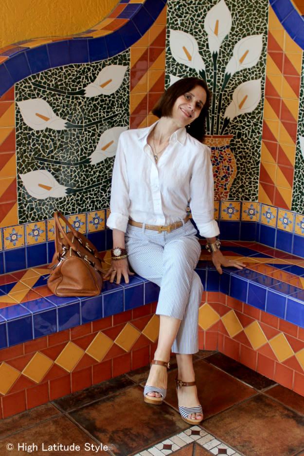 #fashionover40 summer work look | High Latitude Style | http://www.highlatitudestyle.com