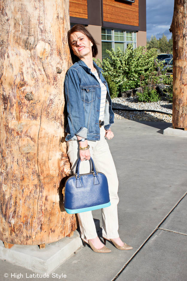 #fashionover40 #fashionover50 casual Friday work outfit for fall and $300 N#Nordstrom gift card giveaway @ High Latitude Style @ http://www.highlatitudestyle.com