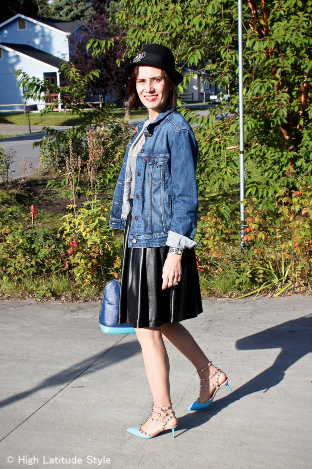 #fashionover40 #fashionover50 Fairbanks streetstyle in Focus Alaska a series on Alaska lifestyle and curisosa with #travel tips  - every Monday on High Latitude Style @ http://www.highlatitudestyle.com