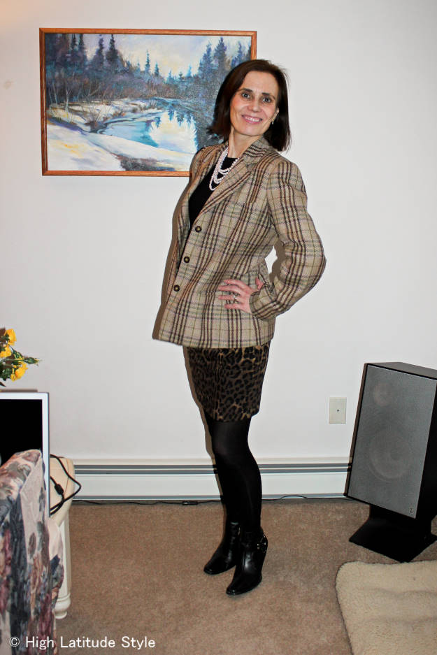 #fashionover40 #fashionover50 outfit at the Top of the World Style weekly fashion linkup party at High Latitude Style @ http://www.highlatitudestyle.com