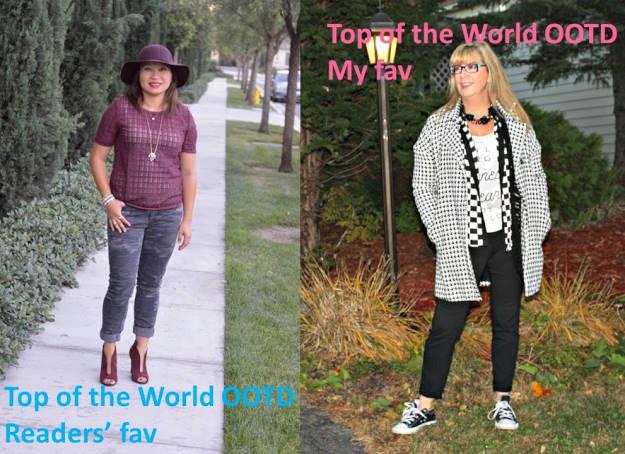 #fashionover40 #fashionover50 Winners of the title Top of the World OOTD at the Top of the World Style fashion linkup party @ High Latitude Style @ http://www.highlatitudestyle.com
