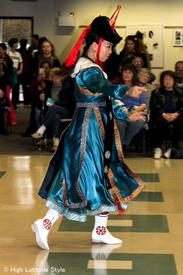 #fashionover40 #fashionover50 Thai dancer perfroming at Fairbanks International Friendship Day @ High Latitude Style @ http://www.highlatitudestyle.com
