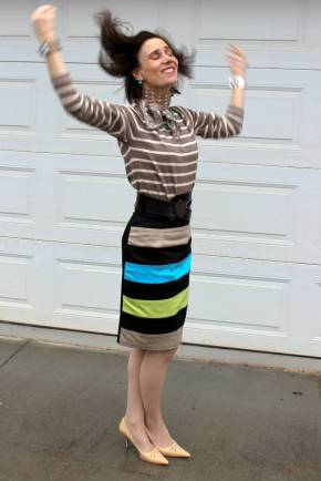 #fashionover40 #fashionover50 example of work outfit in Best Outfits of October @ High Latitude Style @ http://www.highlatitudestyle.com