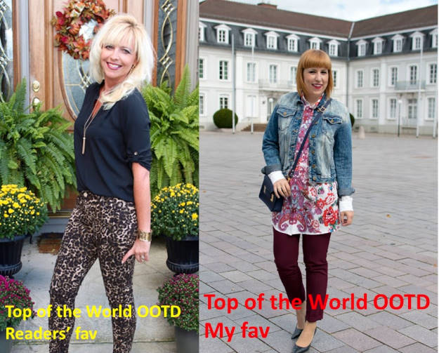 #fashionover40 winners of the titles Top of the World OOTD Readers' Fav and My Fav at the Top of the World Style linkup party at High Latitude Style @ http://www.highlatitudestyle.com