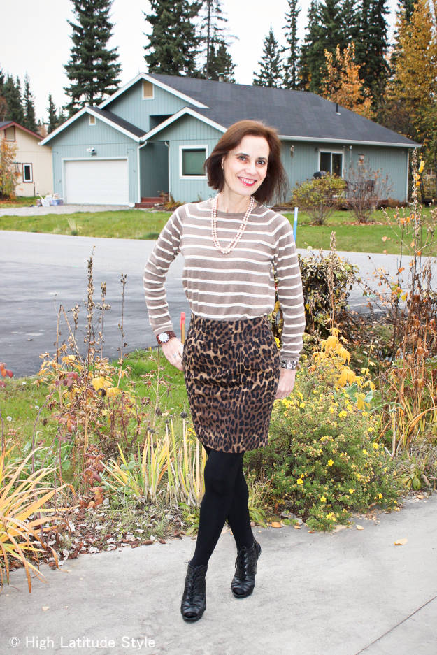 #fashionover40 #fashionover50 OOTD at weekly Top of the World Style #linkup party on Thursdays @ High Latitude Style @ http://www.highlatitudestyle.com