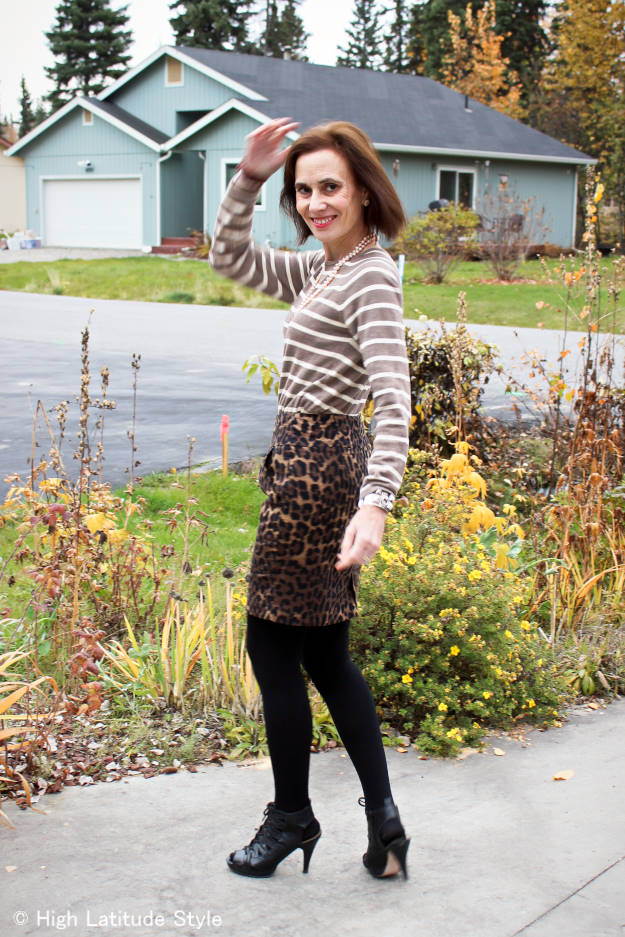 #fashionover50 OOTD at weekly Top of the World Style #linkup party on Thursdays @ High Latitude Style @ http://www.highlatitudestyle.com