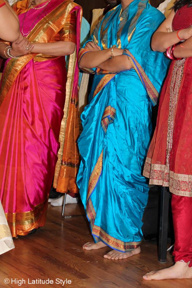 #fashionover40 #fashionover50 Best outfits of the Diwali celebration in Fairbanks @ High Latitude Style @ http://www.highlatitudestyle.com