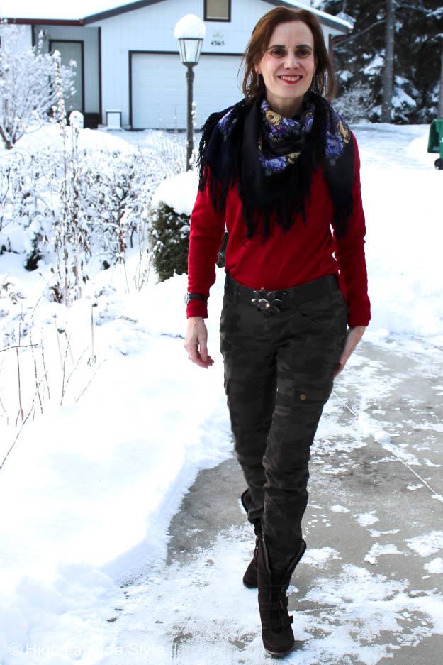 #Fashionover40 #Fashionover50 OOTD @ High Latitude Style @ http://www.highlatitudestyle.com