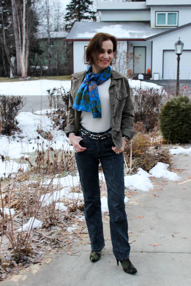#fashionover40 #fashionover50 casual Friday work outfit | High Latitude Style | http://www.highlatitudestyle.com