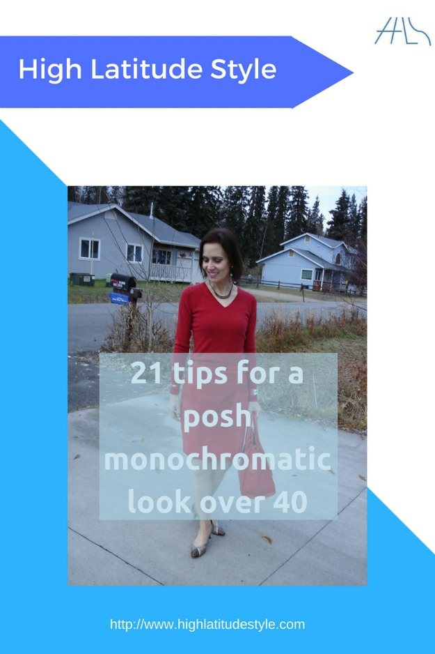 #fortyplusstyle 21 tips for a posh monochromatic look over 40