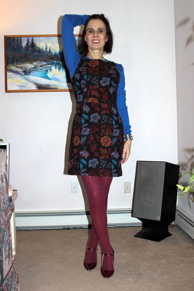 fashion over 40 mature tights