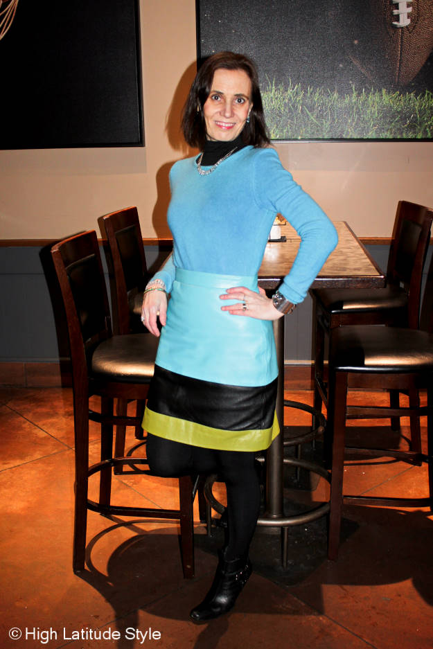 Fashion over 40 wearing bold colors http://www.highlatitudestyle.com