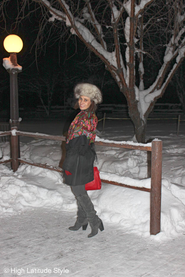 mature fashion  Alaska winter outfit @ High Latitude Style @ http://www.highlatitudestyle.com