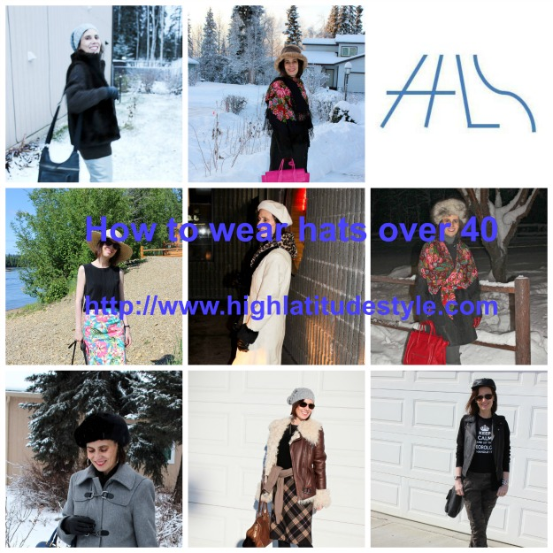 High Latitude Style How To Wear Hats Over 40