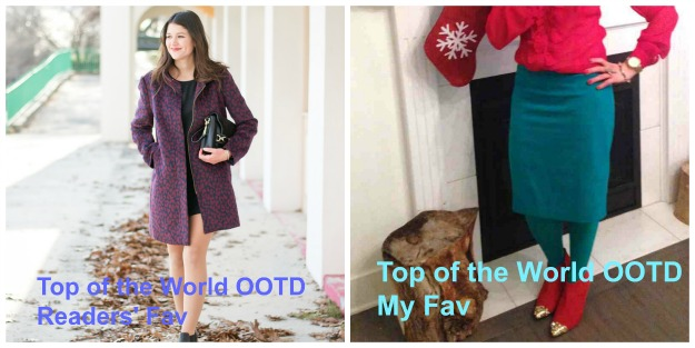 Top of the World OOTD at the weekly Top of the World Style linkup party @ High Latitude Style @ http://www.highlatitudestyle.com