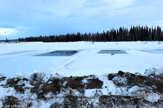 #travel frozen pond for harvesting ice more @ http://www.highlatitudestyle.com