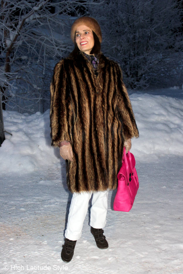 #maturefashion winter outerwear at the Top of the World Style linkup party @ http://www.highlatitudestyle.com