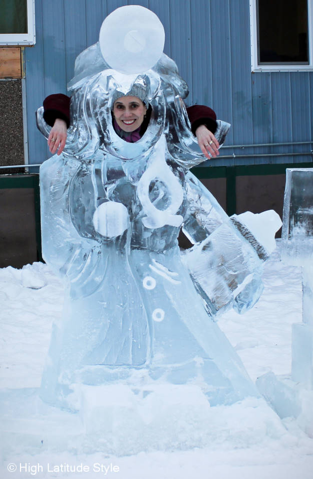 fashion ice sculpture