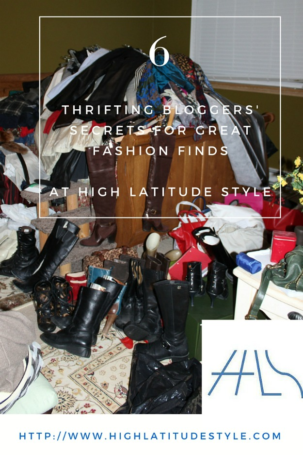 thrifting fashion over 40 at https://highlatitudestyle.com/2016/02/10/thrifting-bloggers-fashion/