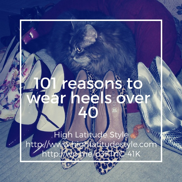 #over40fashion 101 reasons to wear heels over 40 @ http://wp.me/p3FTnC-41K