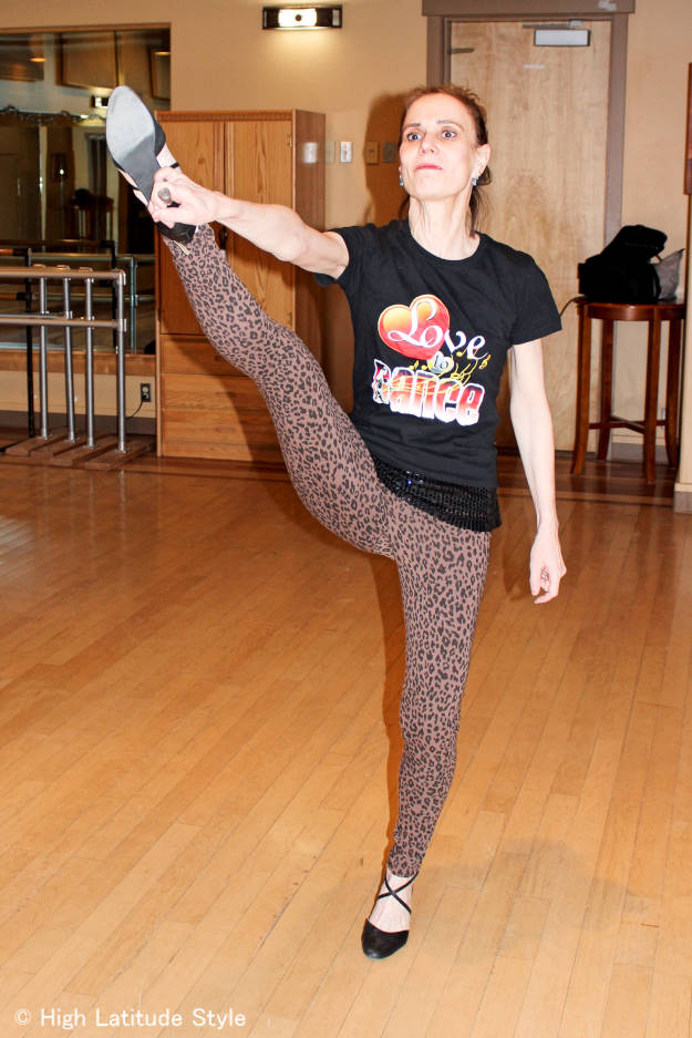 #Nononsense leopard print cotton leggings #review @ http://www.highlatitudestyle.com