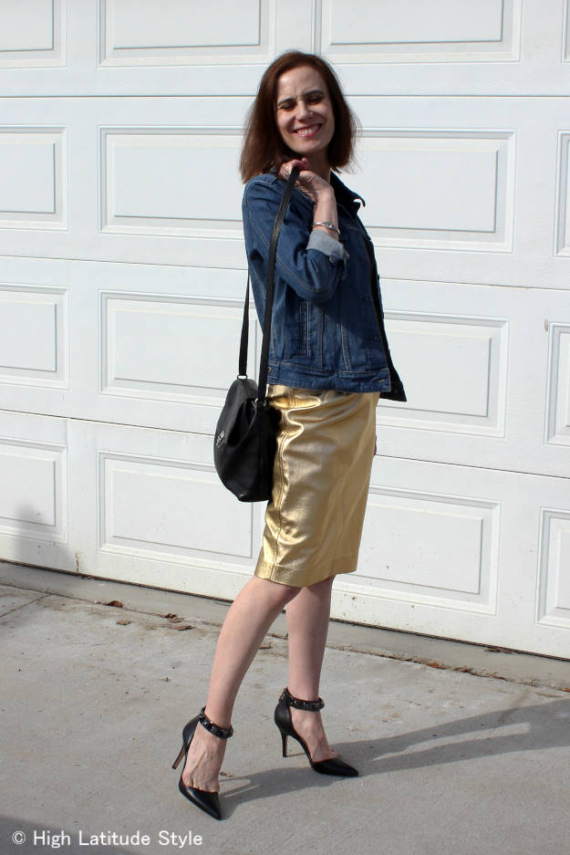 #fashionover40 weekend outfit for going out @ http://www.highlatitudestyle.com
