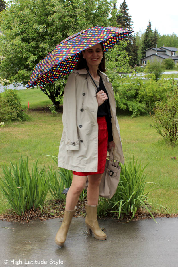 #styleover40 bad weather outfit