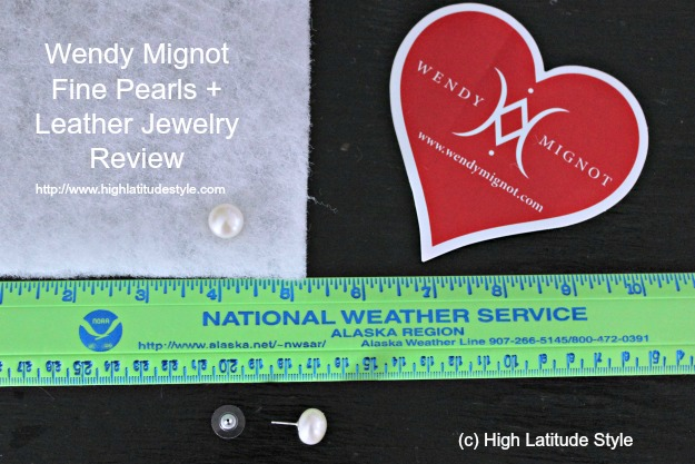 #WendyMignot #review at http://www.highlatitudestyle.com size of pearl studs