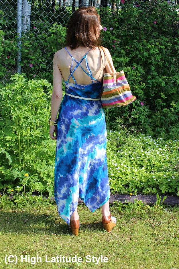 #Hawaiian Tropic back view of beach dress - review at http://wp.me/p3FTnC-4Vr