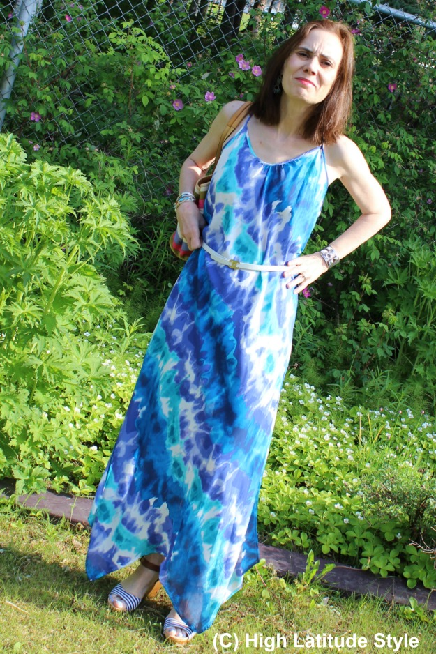 #HawaiianTropic beach dress styled up for a promenade along the stores - review at http://wp.me/p3FTnC-4Vr