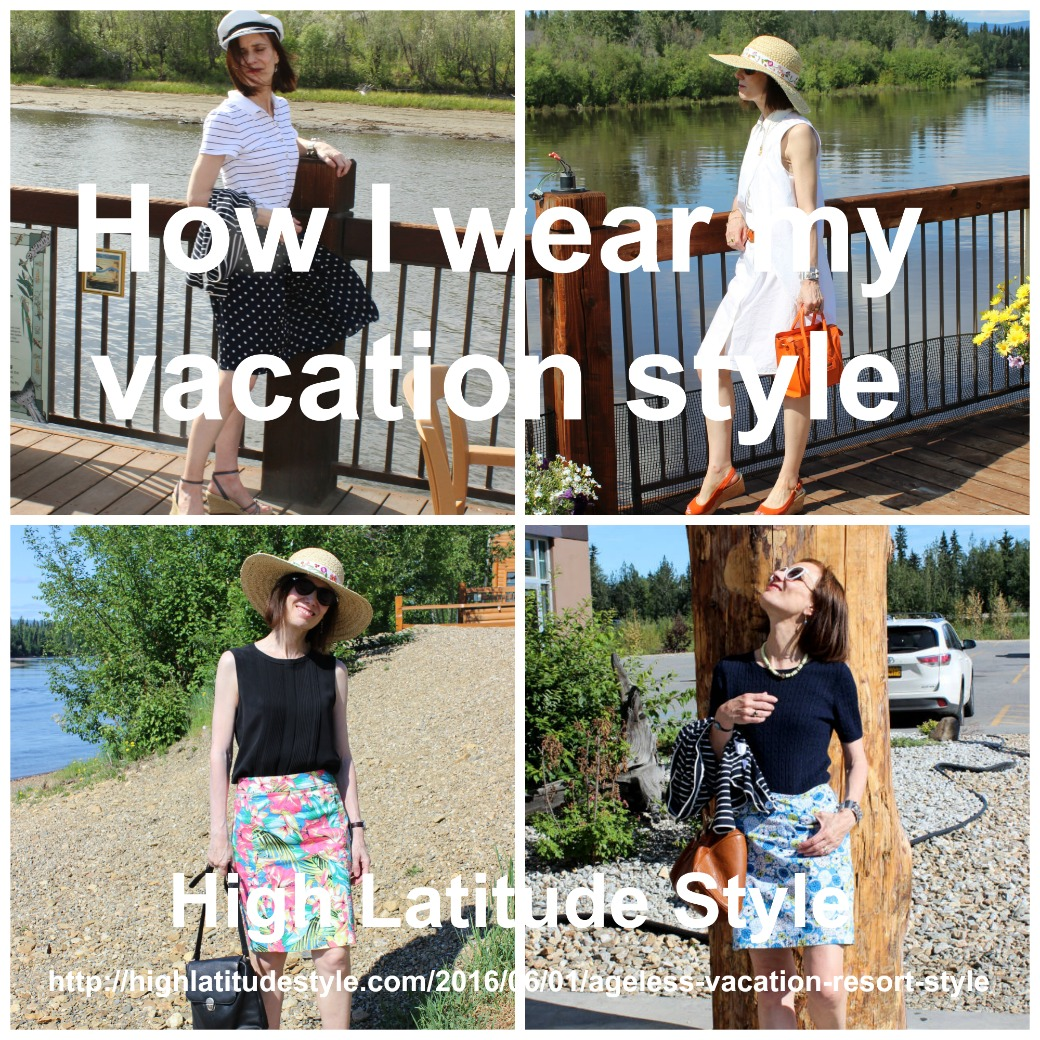 How I wear my vacation style fashion over 40