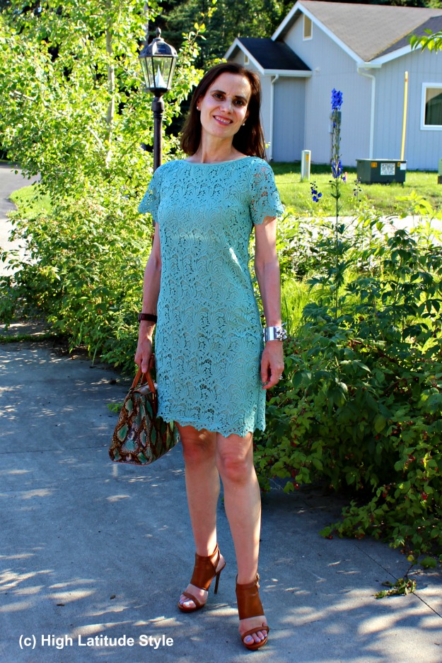 #styleover50 summer work outfit for mature women