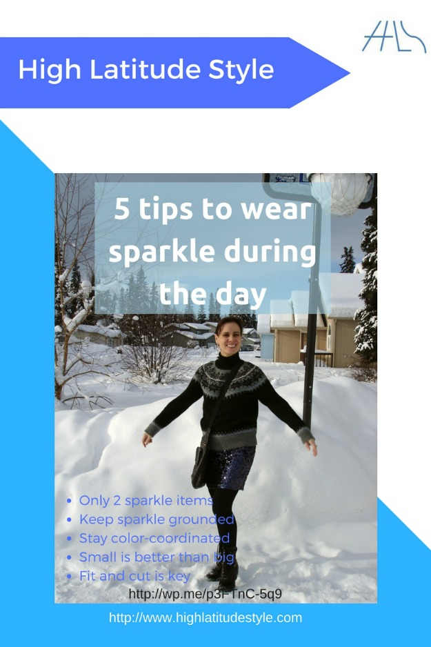 #fashionover50 5 tips how to wear sparkle during the day