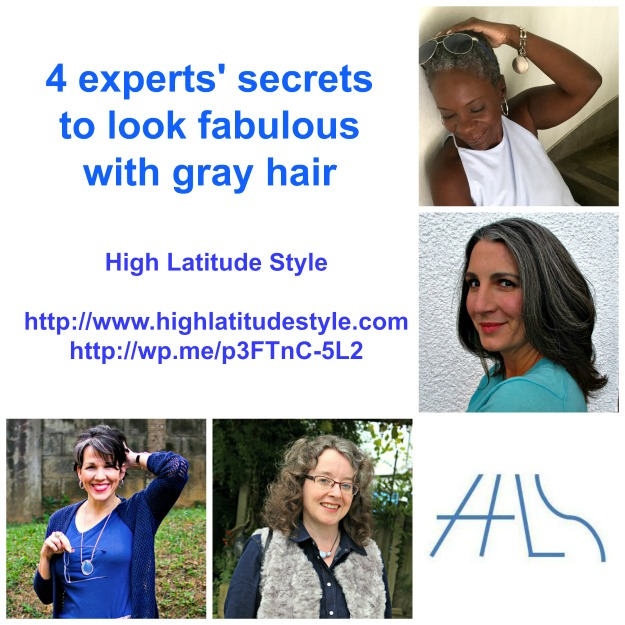 #grayhair experts' secrets for great gray hair