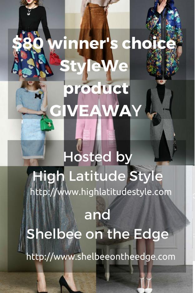 #giveaway #StyleWe $80 winner's choice of StyleWe product