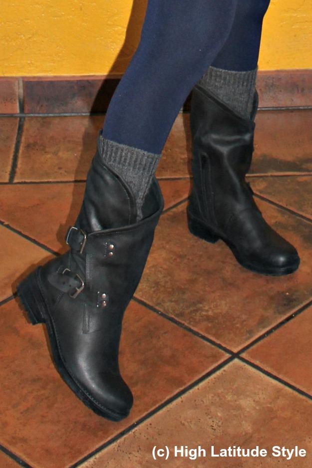 #coolway Alida nubuk booties with buckles