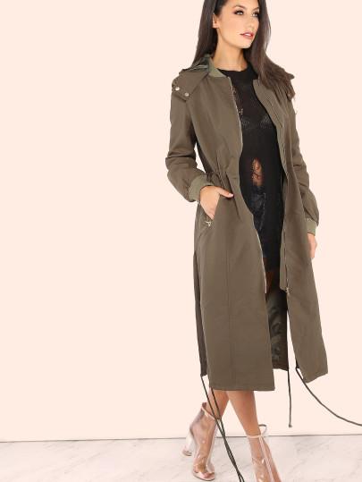 #maturestyle Longline Anorak Bomber Jacket