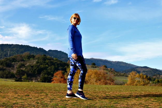 #styleover40 Andrea in stylish athleisure gear