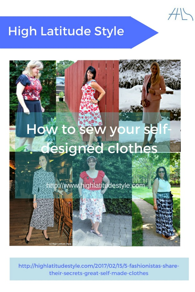 sew your self designed clothes