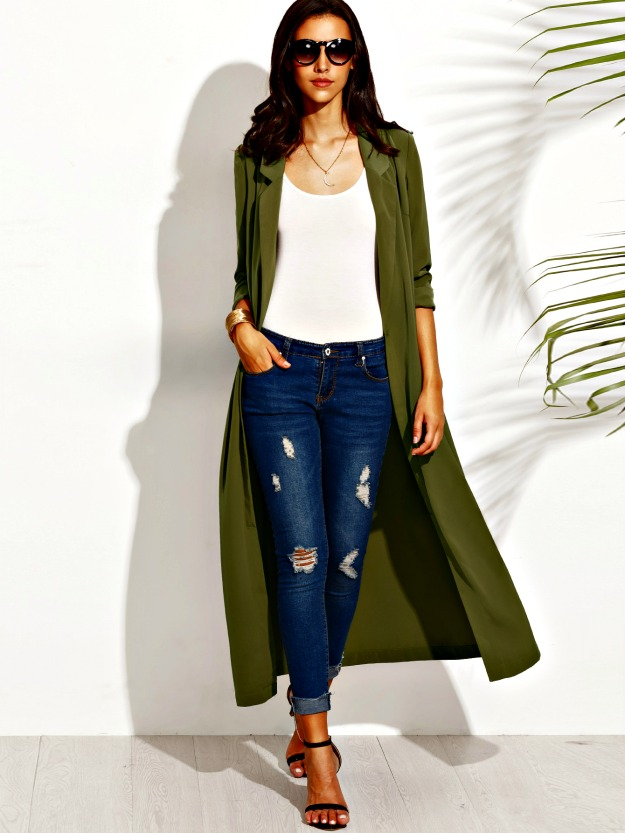 spring trend in outerwear