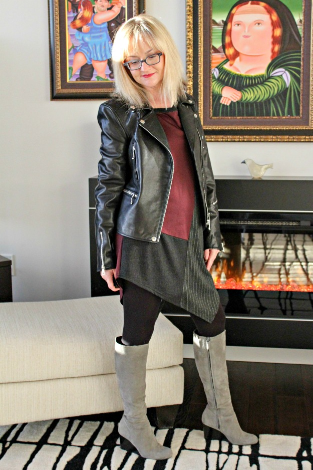 fashion over 40 Seattleite layering