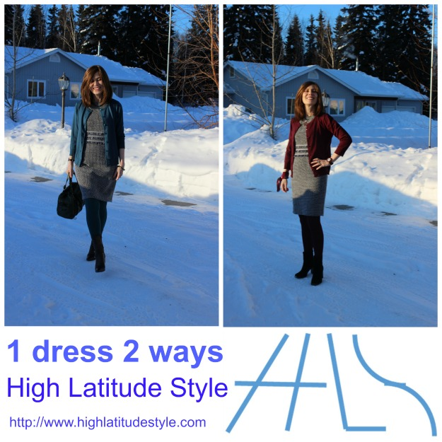 fashion over 40 1 dress 2 looks styling ideas