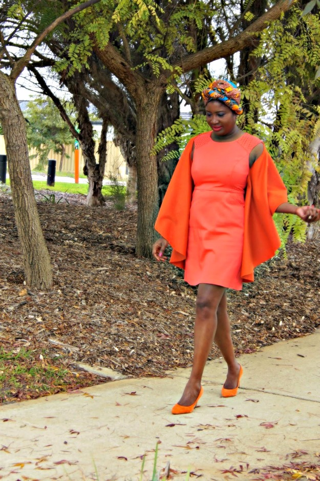 fashionover40 classic look with an African twist