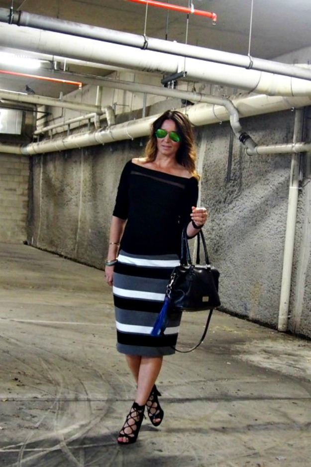 fashion over 40 casual posh work outfit